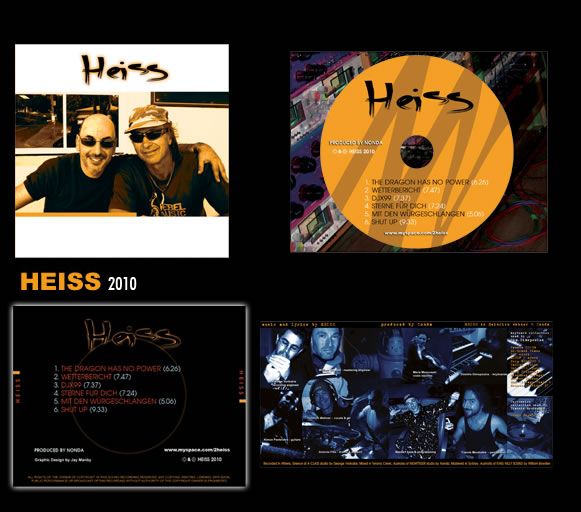 "New Album ""Heiss"""